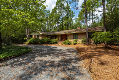 Pinehurst Single Family Home For Sale: 320 Oakmont Circle