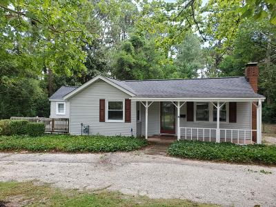 Southern Pines Single Family Home For Sale: 255 W Delaware Avenue