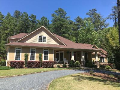 Southern Pines Single Family Home Active/Contingent: 1430 S Fort Bragg Road