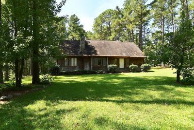 Cameron, Vass Single Family Home For Sale: 361 Pineridge Drive