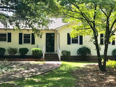 Moore County Single Family Home Active/Contingent: 2029 Airport Road