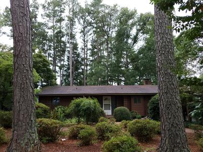 Pinehurst, Southern Pines, Whispering Pines, Foxfire, Aberdeen Single Family Home For Sale: 101 Lakeview Drive