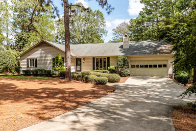 Moore County Single Family Home Active/Contingent: 143 Hastings Road