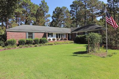 Pinehurst Single Family Home Active/Contingent: 100 Harlow Road