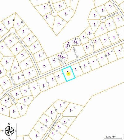 Foxfire Residential Lots & Land For Sale: 73 Richmond Road