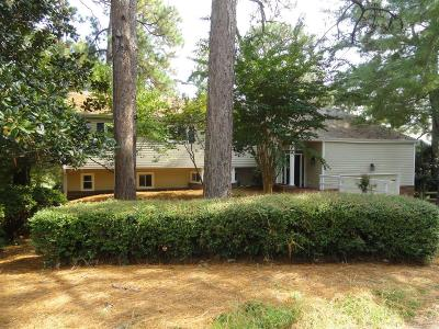 Pinehurst Single Family Home For Sale: 85 Briarwood Circle