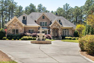 Pinehurst NC Single Family Home For Sale: $1,895,000