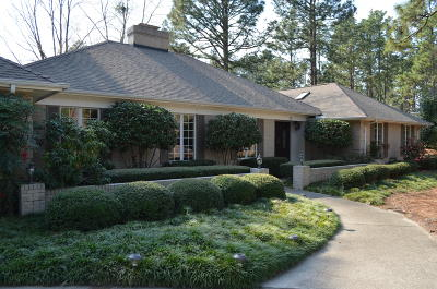 Pinehurst Single Family Home For Sale: 10 Beasley Drive