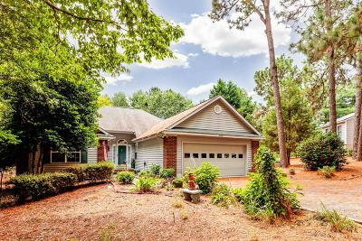 Seven Lakes, West End Single Family Home Active/Contingent: 125 Shagbark Court