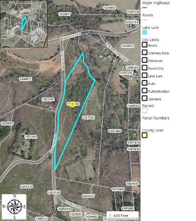 Bostic, Ellenboro, Forest City, Rutherfordton Residential Lots & Land For Sale: E Butler Rd