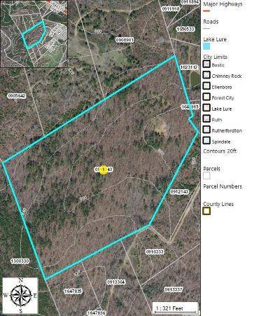 Rutherfordton, Bostic, Forest City, Spindale Residential Lots & Land For Sale: Harrill Rd