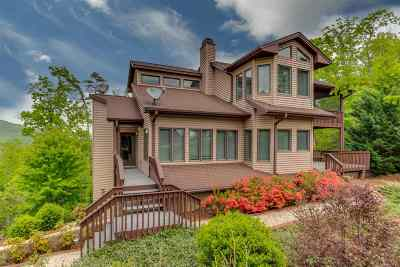 Lake Lure Single Family Home For Sale: 117 Eagles Crest Way