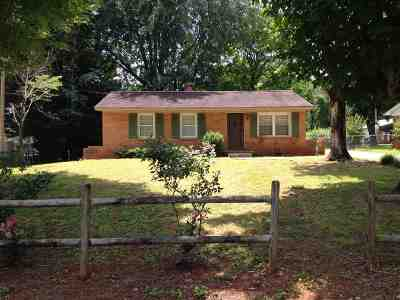 Rutherfordton Single Family Home Contingent Upon Financing: 127 Northview Dorsey