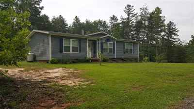 Rutherfordton Single Family Home For Sale: 266 Cove Springs Rd.