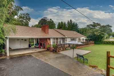Rutherfordton Single Family Home Cont W/Due Diligence: 121 Thompson Road