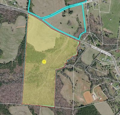 Rutherfordton, Bostic, Forest City, Spindale Residential Lots & Land For Sale: Lot 4 Piney Mountain Church Road