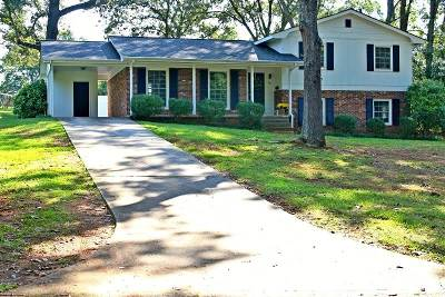 Forest City Single Family Home Contingent Upon Financing: 245 Webb Drive