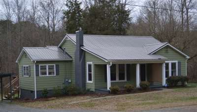 Mooresboro NC Single Family Home For Sale: $103,000