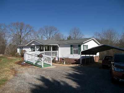 Ellenboro NC Single Family Home For Sale: $78,000