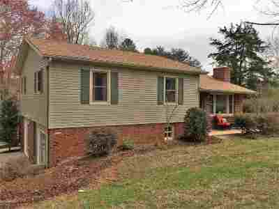 Bostic Single Family Home Cont W/Due Diligence: 690 Freewill Baptist Church Road