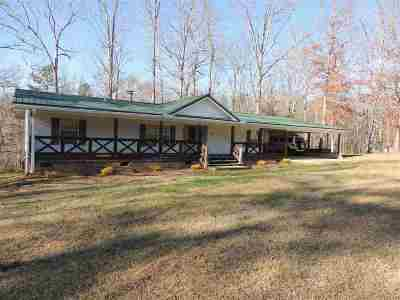 Rutherfordton Single Family Home Contingent Upon Financing: 1962 Coopers Gap Rd