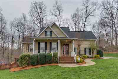Rutherfordton Single Family Home Contingent Upon Financing: 397 Shepherds Creek Circle