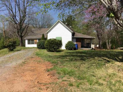 Rutherfordton Single Family Home For Sale: 246 Tryon Road