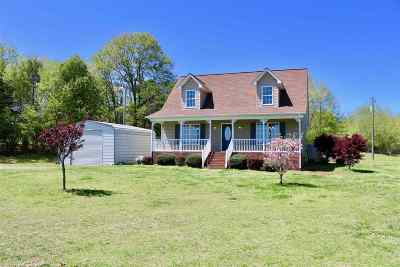 Mooresboro NC Single Family Home Cont W/Due Diligence: $139,900