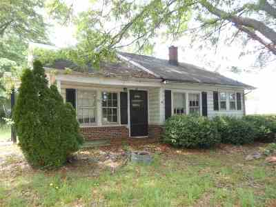 Spindale NC Single Family Home For Sale: $25,000
