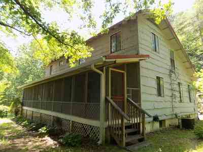 Rutherfordton NC Single Family Home For Sale: $215,000
