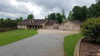 Rutherfordton, Bostic, Ellenboro, Forest City Single Family Home For Sale: 1889 W V Thompson Rd