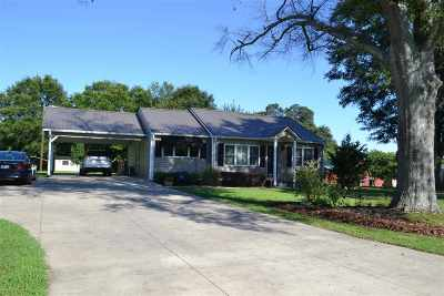 Rutherford County Single Family Home Cont W/Due Diligence: 1823 Ellenboro Henrietta Rd
