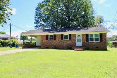 Forest City Single Family Home Cont W/Due Diligence: 155 Westwood Drive