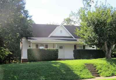 Rutherfordton Single Family Home Cont W/Due Diligence: 244 S Main Street