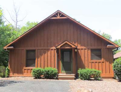 Mill Spring Single Family Home For Sale: 1 Chalet Court