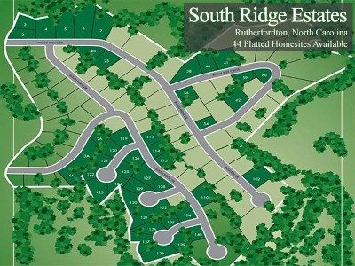 Rutherfordton Residential Lots & Land For Sale: South Ridge Estates