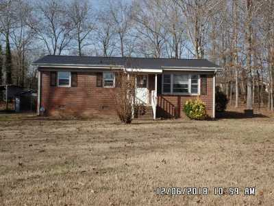 Ellenboro Single Family Home Contingent Upon Financing: 182 Dogwood Dr
