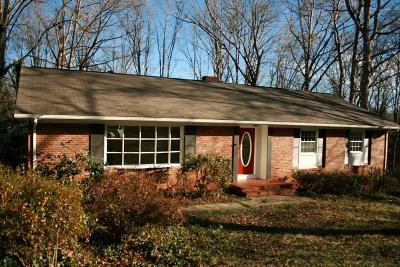 Rutherfordton Single Family Home Cont W/Due Diligence: 204 Forest Hill Circle