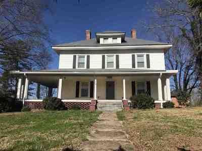 Rutherfordton Single Family Home Cont W/Due Diligence: 6190 Hudlow Road