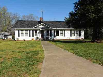 Ellenboro Single Family Home Cont W/Due Diligence: 115 Gracious Way