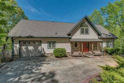 Lake Lure Single Family Home For Sale: 158 Pier Point Drive