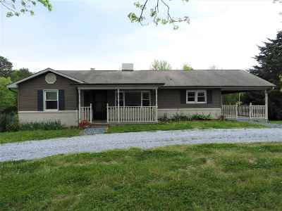 Rutherfordton Single Family Home Cont W/Due Diligence: 6093 Poors Ford Rd
