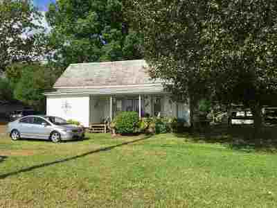 Rutherfordton, Bostic, Ellenboro, Forest City Single Family Home For Sale: 419, 407 Railroad Avenue