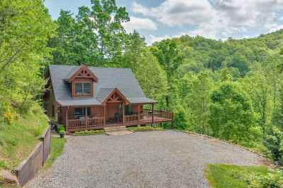 Single Family Home For Sale: 618 Cane Creek Mountain Rd