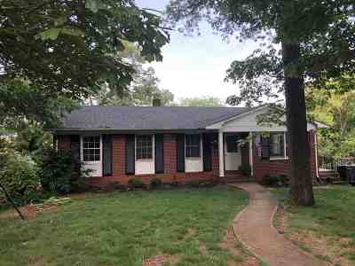 Rutherford County Single Family Home Contingent Upon Financing: 141 South Hillside