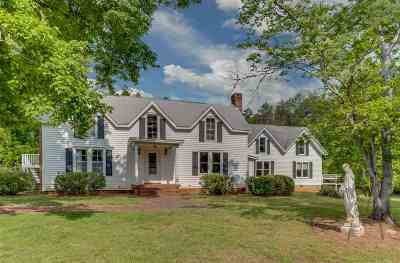 Rutherfordton NC Single Family Home For Sale: $699,900