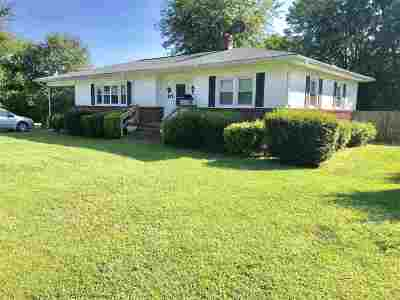 Rutherford County Single Family Home Cont W/Due Diligence: 127 Hall Street