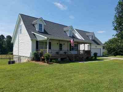 Forest City NC Single Family Home Cont W/Due Diligence: $199,000