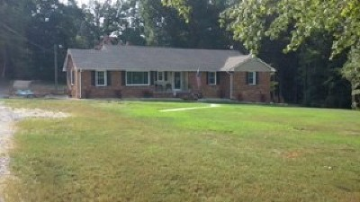 Brunswick County Single Family Home For Sale: 15971 Christanna Hwy.