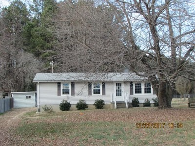 Brunswick County Single Family Home For Sale: 1249 Flat Rock Rd.